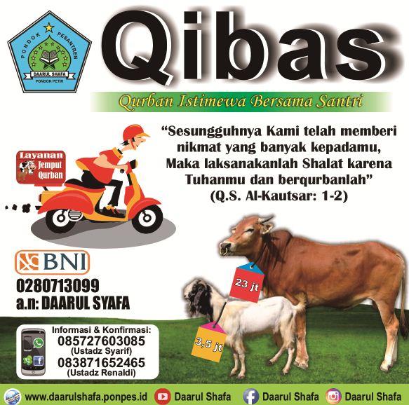 Info BerQurban Bersama Daarul Shafa